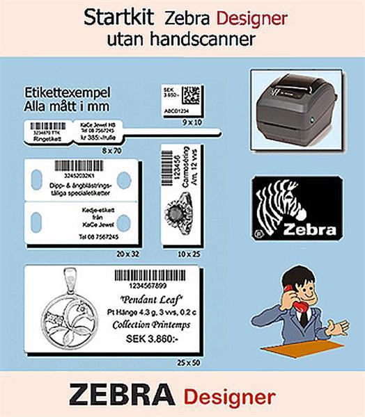 Startkit Zebra Designer 3 Essentials