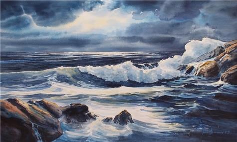 Jarle Hammer-Ut mot havet I