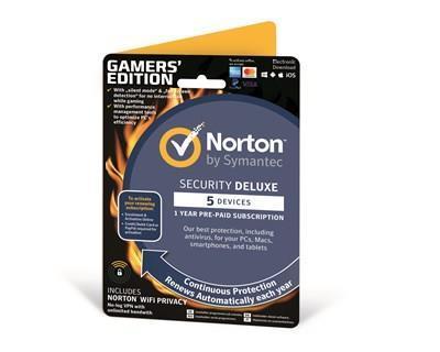 NORTON SECURITY 3.0 WIFI 1U/5D