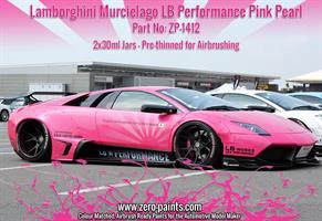 Lamborghini Murcielago LB Performance Pink Pearl 2