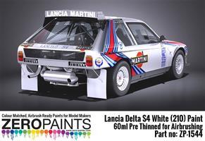 Lancia Delta S4 Rally 1986 Monte Carlo Rally White