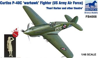 Curtiss P-40C'Warhawk'Fighter(US Army Air Force )'