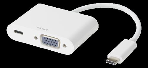 PORTREPLIKATOR, DELTACO USB-C