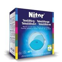 Nitor Tekstilfarge, Turkis 15