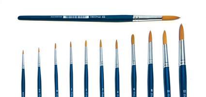Rund pensel str. 0