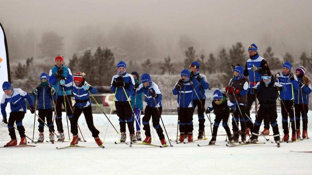 Ranheim skiklubb på treningssamling Oppdal 2014