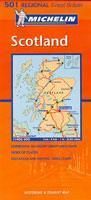 Skottland MI 501 Karta vikt