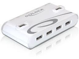 HUB, USB 2.0, 10-PORT, DELOCK