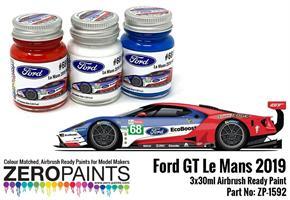 #68 Ford GT Le Mans Paint Set 3x30ml