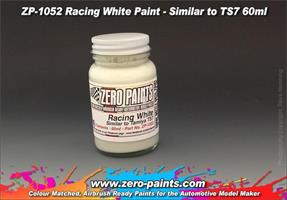 Racing White Paint (Light Cream) - Similar to TS7