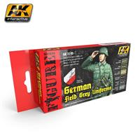 GERMAN FIELD GREY UNIFORMS