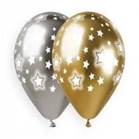 Cosmic Stars Shiny Gold and Silver 33cm (25)