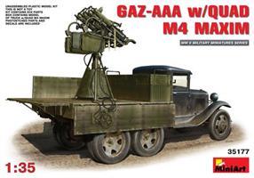 GAZ-AAA  w/QUAD M4 MAXIM