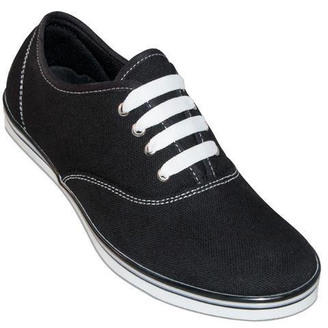 Classic Black Canvas Dance Sneaker