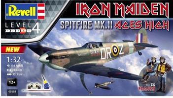 Spitfire Mk.II Aces High 35th Anniversary Iron Mai