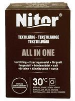Nitor Tekstilfarge All-in-one, Sjokoladebrun