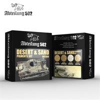 Desert & Sand Pigments Set