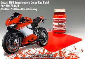 Ducati 1199 Superleggera Corsa Red Paint 60ml