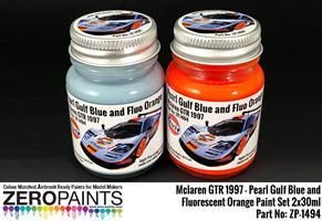 Mclaren F1 GTR 1997 - Pearl Gulf Blue and Fluoresc