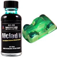 Transparent Green - Heat Stains & Lexan Tints