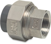 Unionkoppling 50mm rostfri/PVC 1 ½