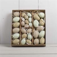 Ägg i box, natur, sorterade storlekar