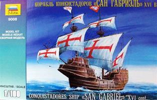 Conquistadores Ship San Gabriel XVI Cent.