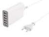 LADDNINGSSTATION, 6-PORT 5xUSB-A, 1xUSB-C