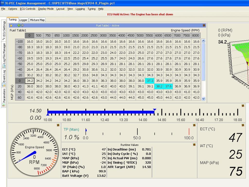 Vi-PEC screenshot