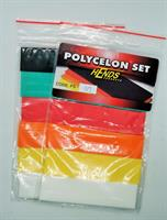 Polycelon set-foam 6 färger 01