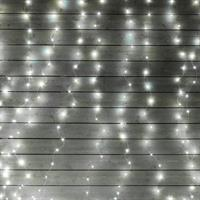 Ljusslinga LED, gardin, 10 utlöpare