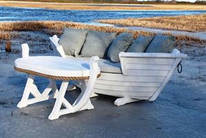 Vene-sohva valkoinen pieni