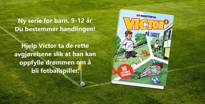 Zeppelin skal gi ut den danske serien om Victor.