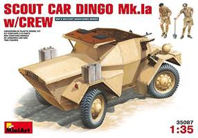 SCOUT CAR DINGO Mk.1a w/CREW