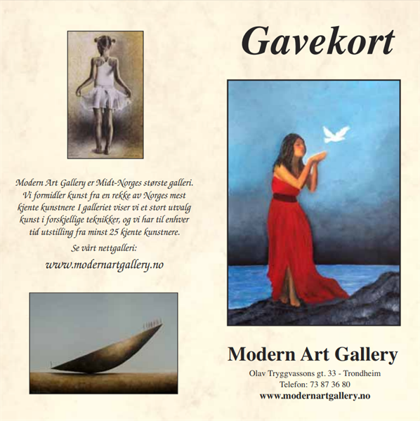 Gavekort - Kunst