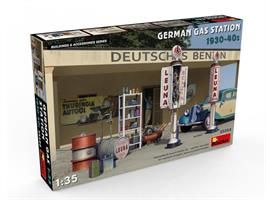 German Gas Station 1930-40s