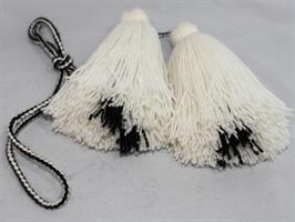Dusker - Belte - Hvit, svart