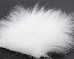 Craft fur -white