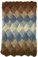 Paket Näverstickade muddar blå/brun