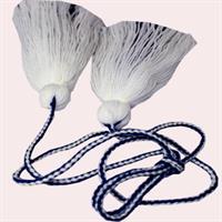 Dusker - Belte - Hvit, marine blå