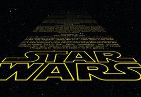 Komar fototapet Star Wars Intro