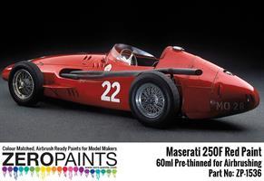 Maserati 250F Red Paint