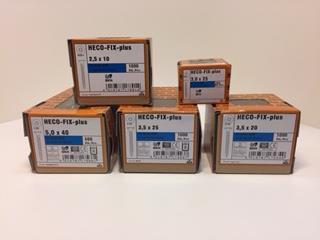 M.skruv pzd 1 2,5x16 1000-pack