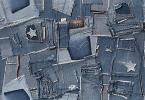 Komar fototapet Jeans