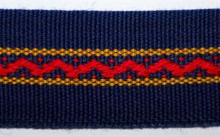 Monterte Damebånd - Marine Blå