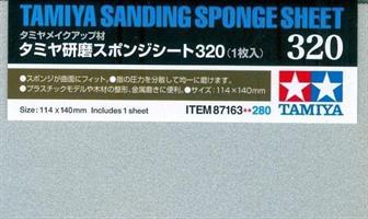 Sanding Sponge Sheet 320