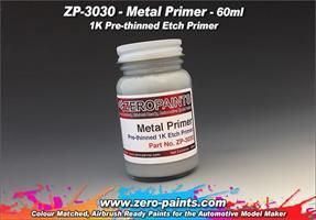 Metal Primer 60ml (Pre-thinned)