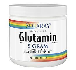 Glutamin 5 g Solaray 300mg pulver