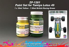 Lotus 49 (Tamiya) Paint Set 2x30ml