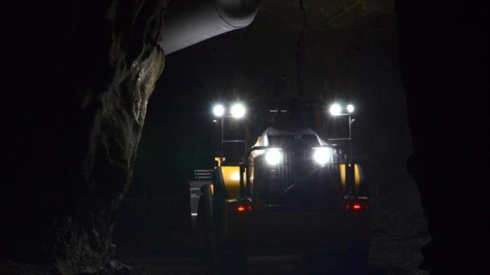 Lyckat projekt med fjärrstyrt lastfordon i gruva